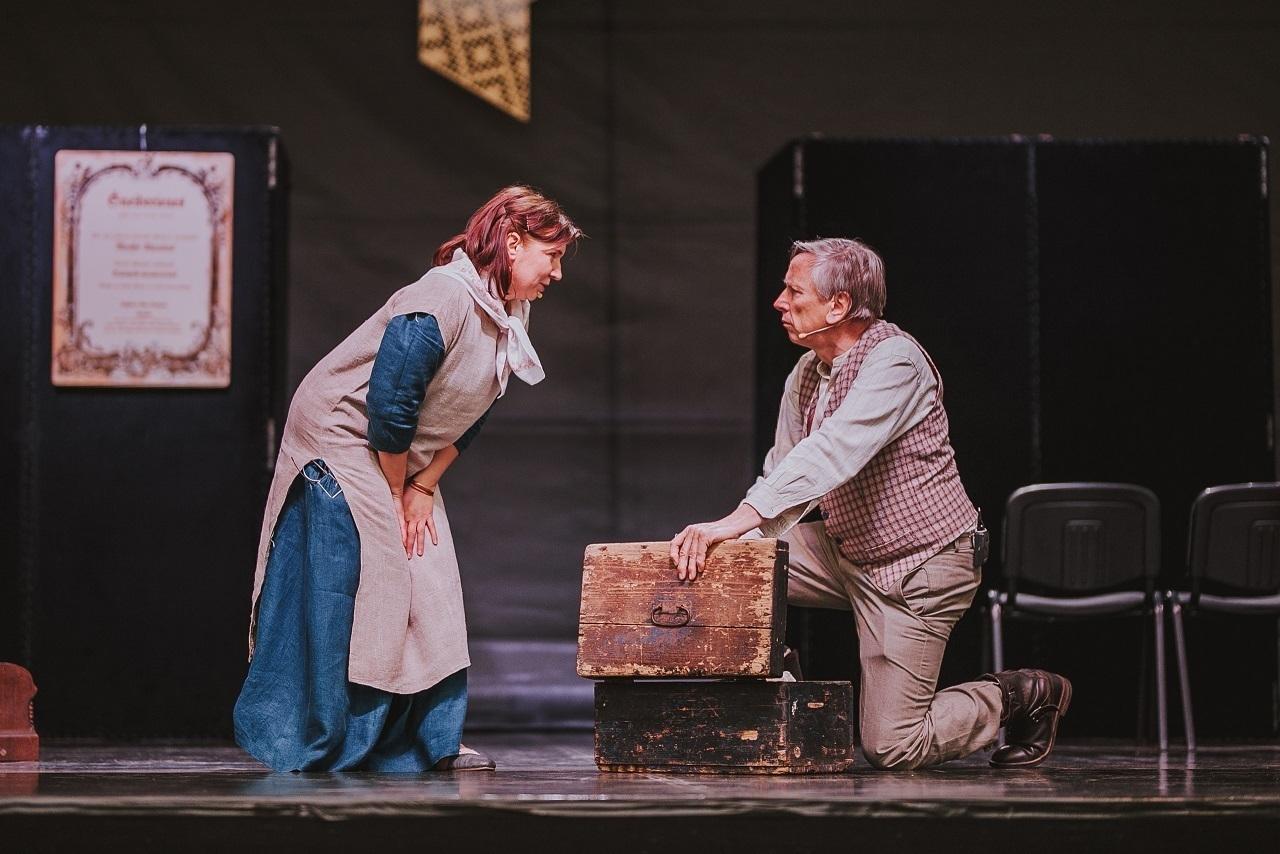 """2019.gada Salaspils amatiermākslas festivāls """"Salaspils dzied, dejo, spēlē""""! Salaspils teātra izrāde """"Šneiderienes""""!"""