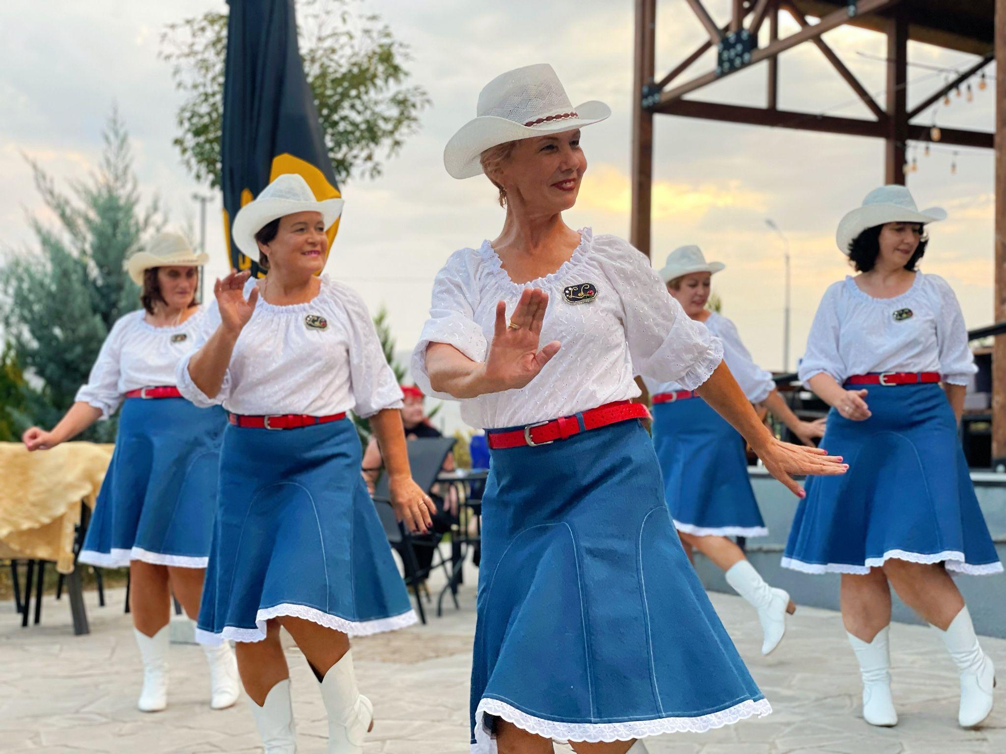 "Salaspils līnijdeju grupa ""Lucia's Linedancers"" iekaro Gruziju!"